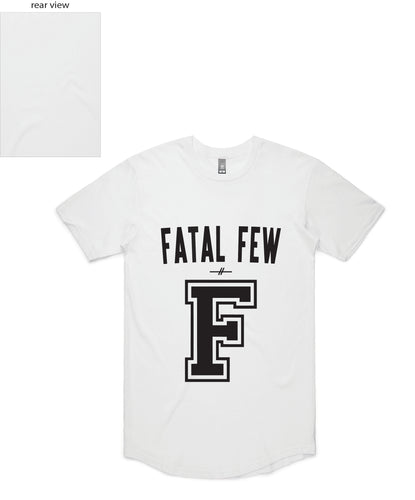Varsity Tee ('F' Fatal Few Front/Plain Back) - more colours available
