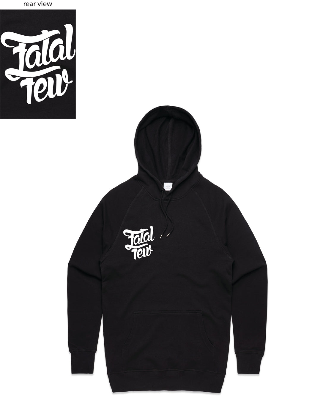 Original Hoodie (Fatal Few Front/Fatal Few Back) - more colours available