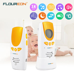 baby Monitor Wireless Transmission Radio Digital Alarm Bebe 2.4GHz Phone indoor