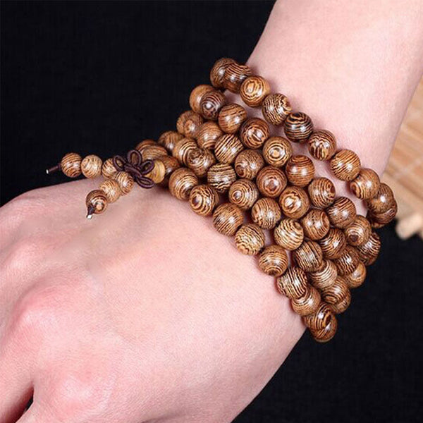 Millettia Multilayer Beaded Bracelet