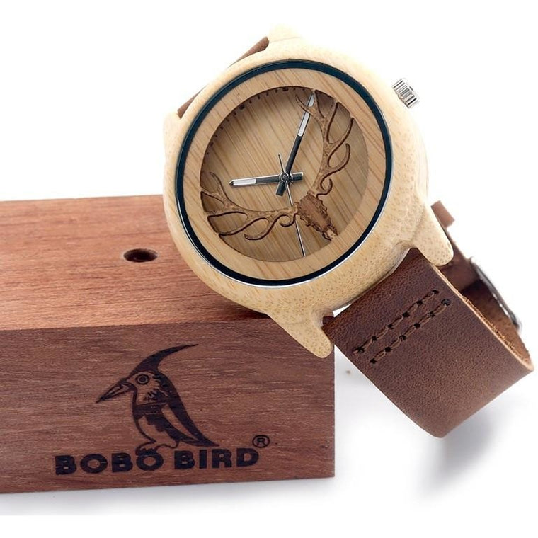 Stag 2.0 Wooden Watch