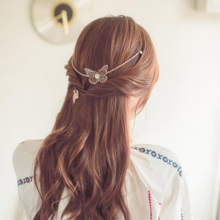 Gaia Hair Chain