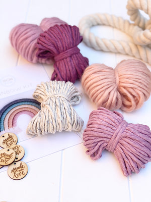 Chunky Rainbow DIY Kit - ROSY