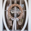 Welcome Rope Wreath