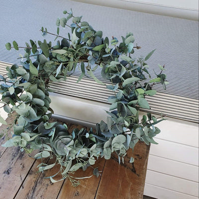 Limited Edition Red Eucalyptus Garland