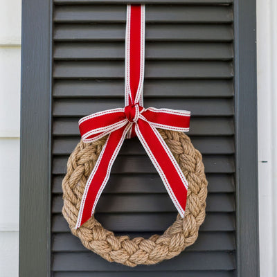 Rope Wreath (Stockist)
