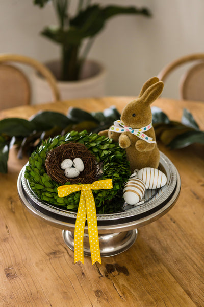 Easter Preserved Boxwood Wreaths