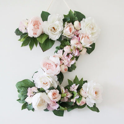 personalised floral piece kids photo prop