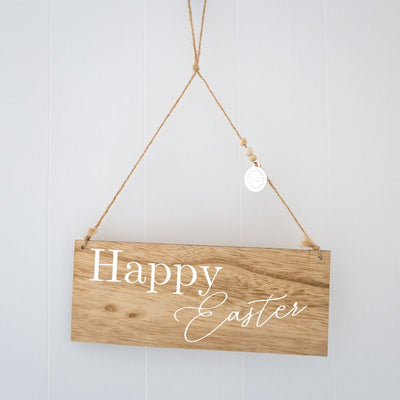 Easter Wreath Sign
