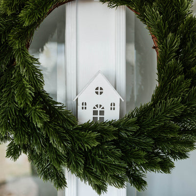 Light Up House Wreath Accessory