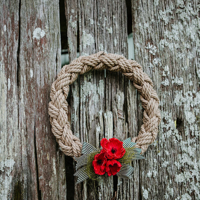 Anzac Rope Wreath