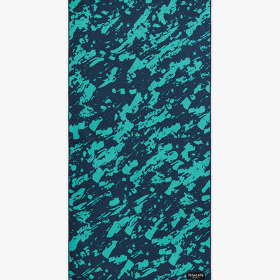 Ignite - Green/Black-Beach-Towel-Tesalate