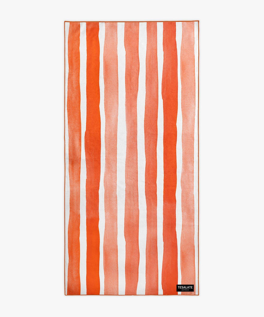 Bora Bora - Orange-Beach-Towel