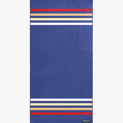 Keepin it Classic - Blue-Beach-Towel