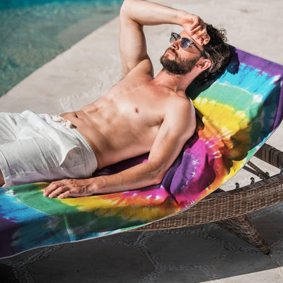 Ray of Sunshine-Beach-Towel