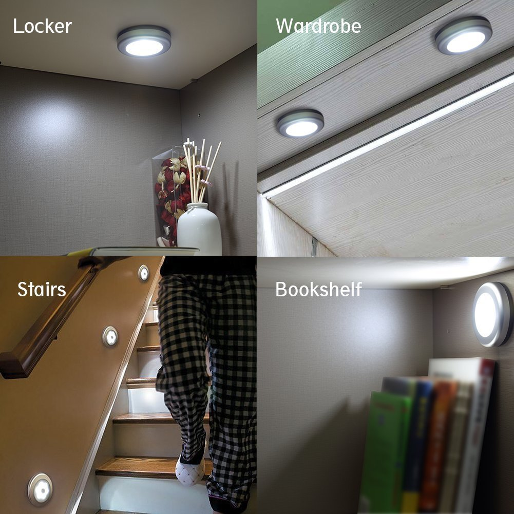 Ultra-thin Motion Activated LED Nightlight
