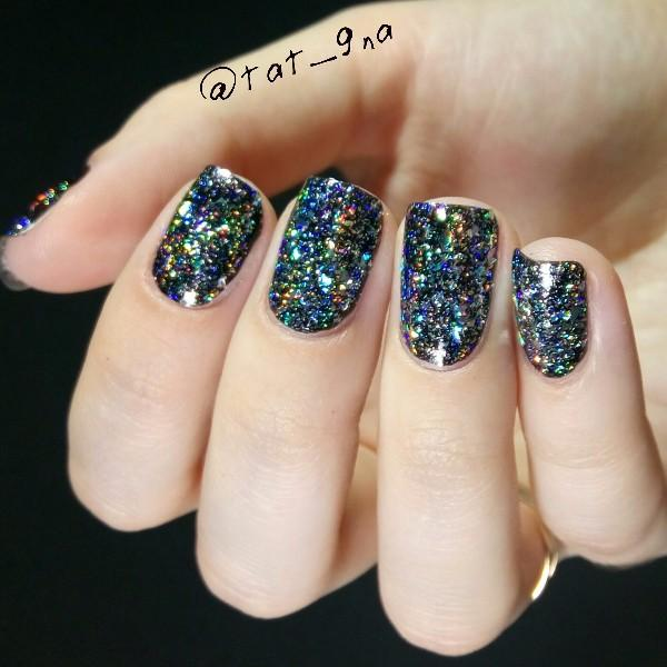 GALAXY HOLO NAILS