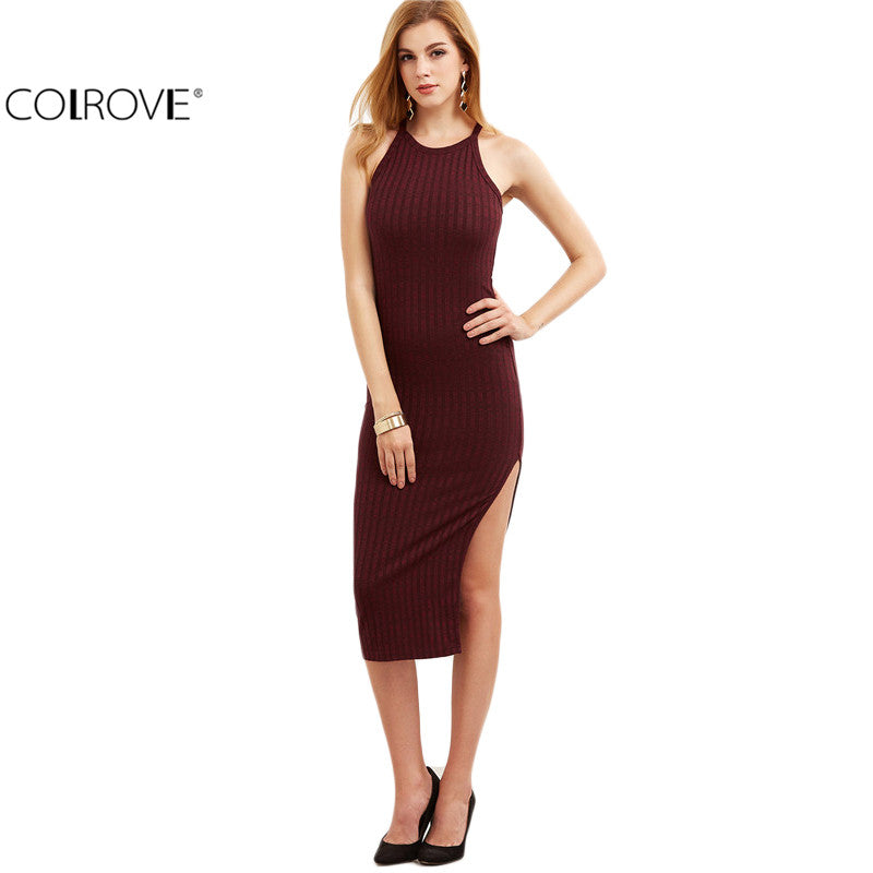 Sexy Bodycon Cami Dress Winter