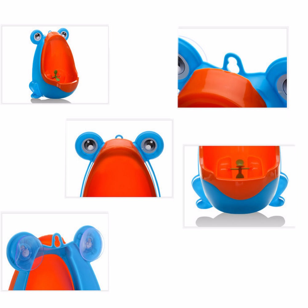 Cute Animal Boy's Portable Potty Urinal Standing Toilet