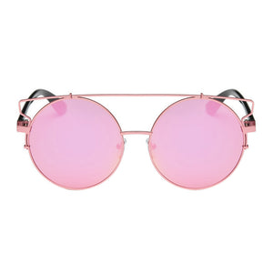 Feitong 2017 Fashion Cat Eye Oversized Big Round Sunglasses