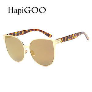 HapiGOO 2017 New Oversize Cat Eye Sunglasses