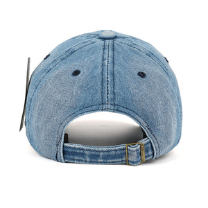 Jean badge baseball cap