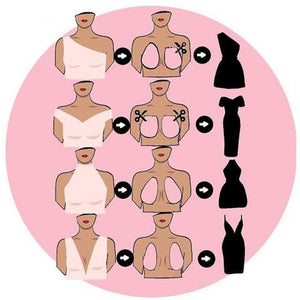 Reusable Silicone Bra