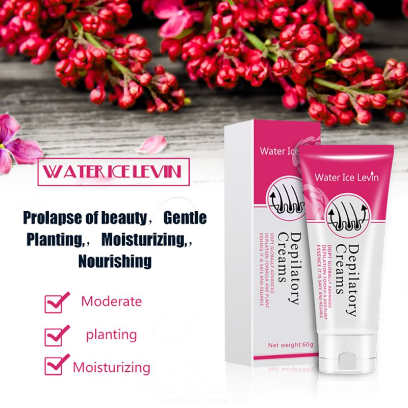 Depilatory Cream - Pain-Free Hair Removal Cream