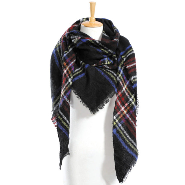 Winter Scarf Plaid