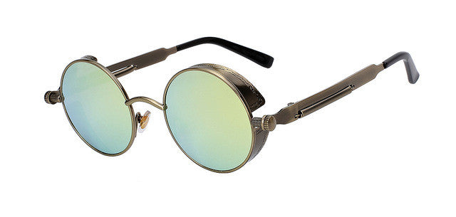 Round Metal Sunglasses Steampunk (Men Women)