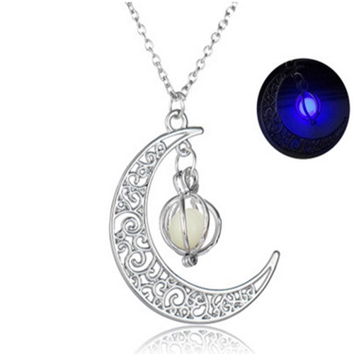 Charm Luminous Stone necklaces