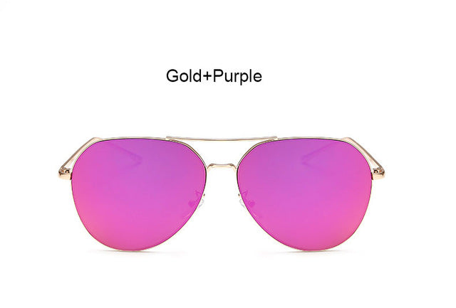 Women stylish mirror aviation Sunglasses