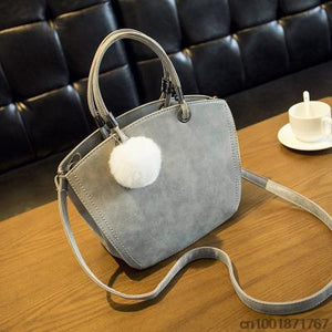 Vintage Winter Woman Handbag