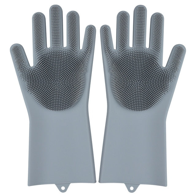 Silicone Cleaning Magic Gloves