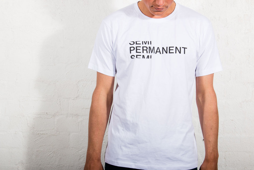 Semi Permanent Worktones Tee - White