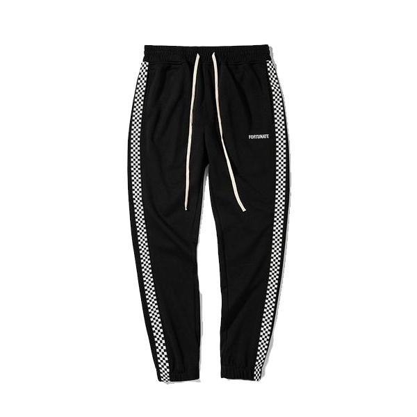 CHECKERED TECH FLEECE JOGGERS