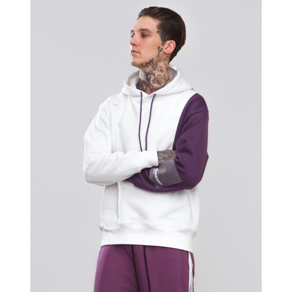 TWO TONE ATHLETIC HOODIE