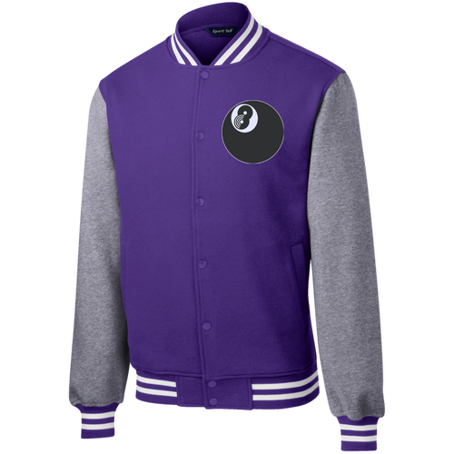 """THE EIGHTH"" PURPLE LETTERMAN JACKET"