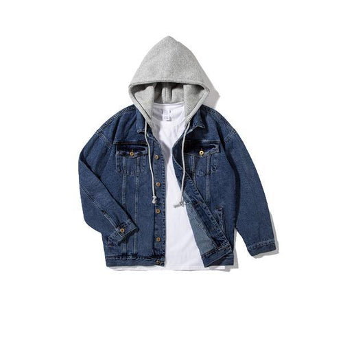 MA-2 DENIM HOODED JACKET