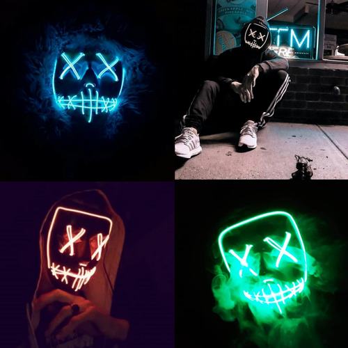 LED STREETBEAST MASK BUNDLE