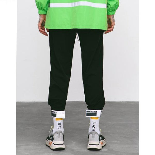 LOTUS NYLON TRACK PANTS
