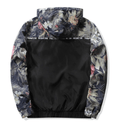 Outerwear - SILENT FOREST Floral Windbreaker