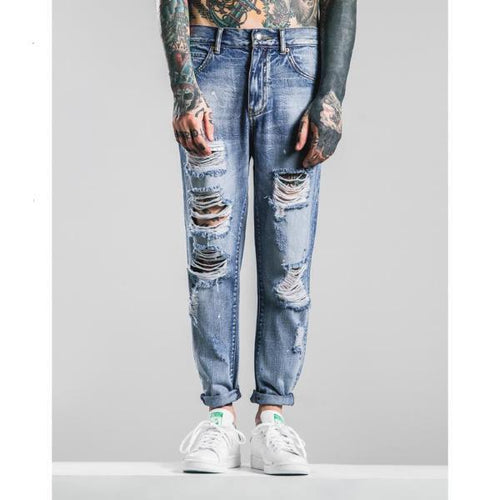 PROPHETIC DISTRESSED JEANS