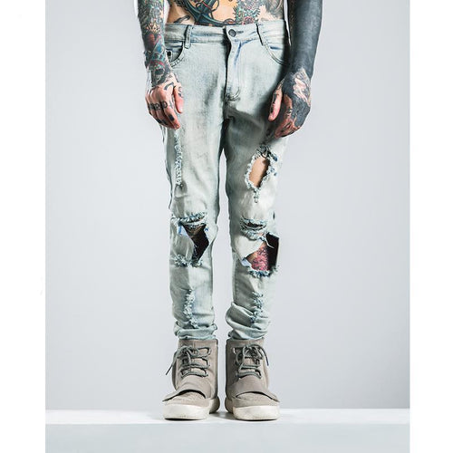 MARK ANTONY DISTRESSED JEANS