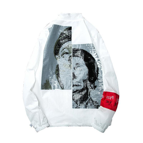 DUAL SOCIETY Windbreaker