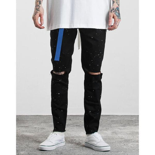FALLACY DISTRESSED JEANS