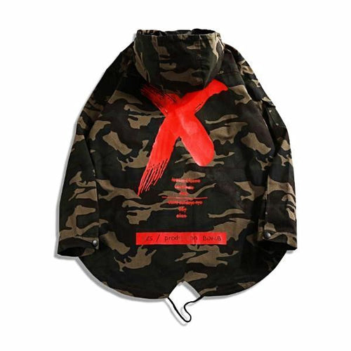 ETERNAL MIST Camo Windbreaker