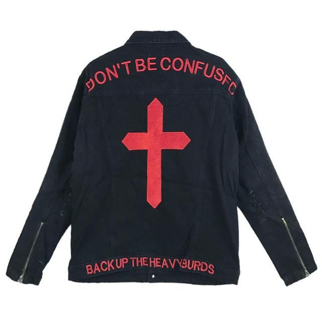DON'T BE CONFUSED DENIM JACKET