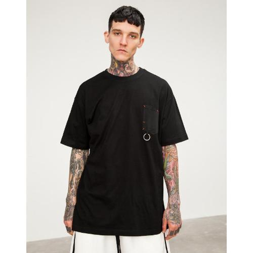 ESSENTIALS BLACK T-SHIRT
