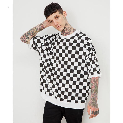 LORDE CHECKERED T-SHIRT
